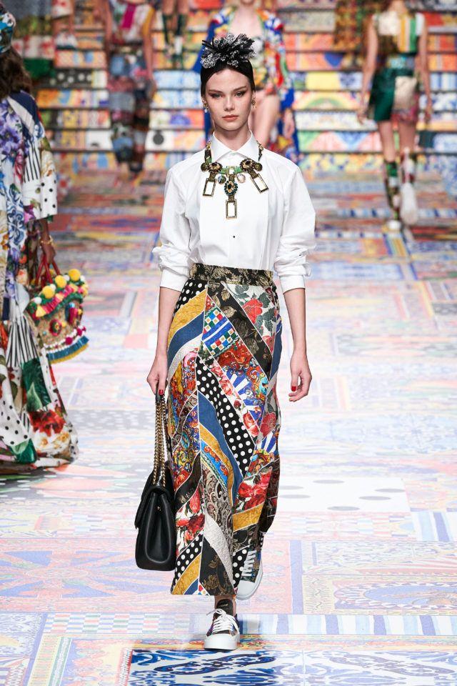 Dolce & Gabbana #VogueRussia #readytowear #rtw #springsummer2021 #DolceGabbana #VogueCollections