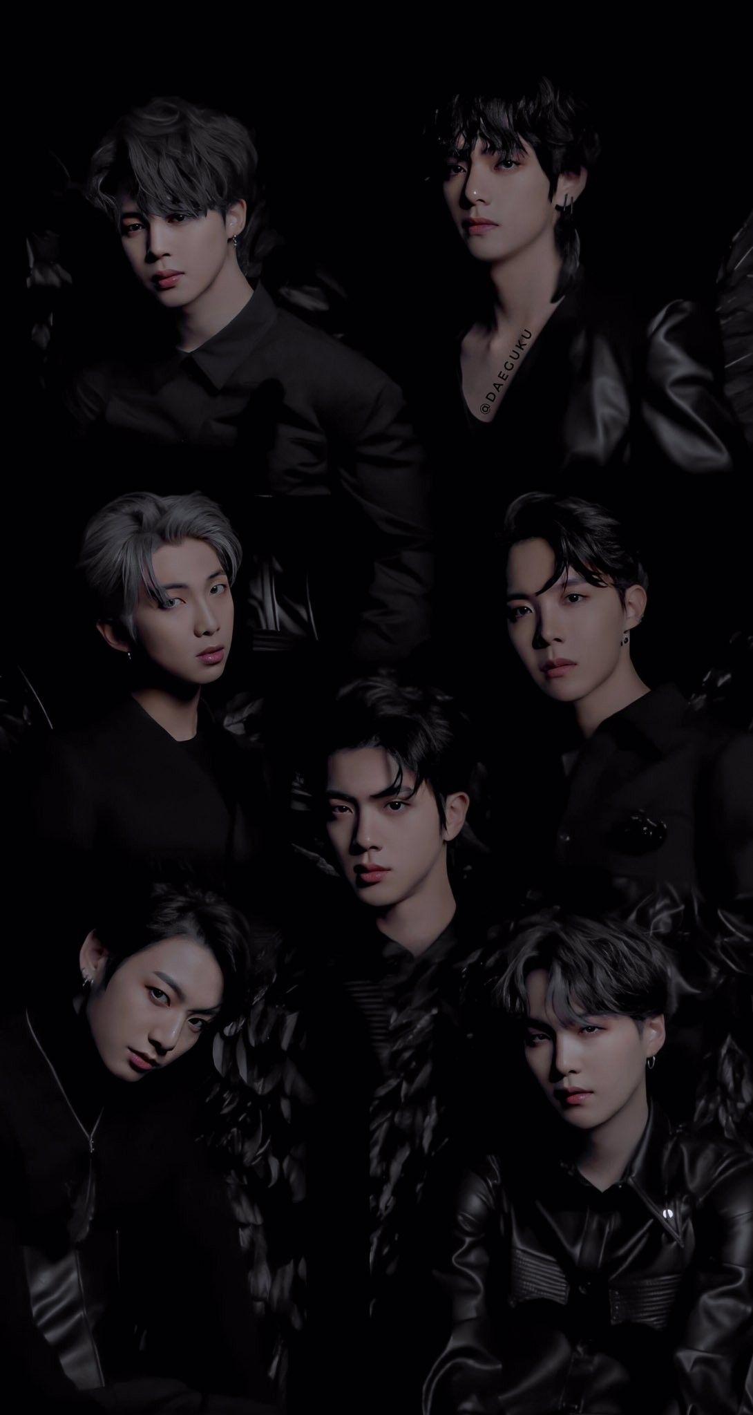 BTS 방탄소년단 MAP_OF_THE_SOUL_7 Concept Photo version 2 di