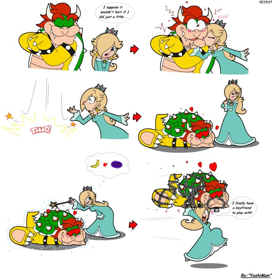 princess peach and bowser babies