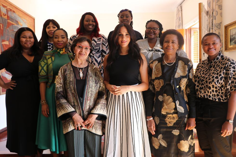 Duchess Meghan Hosts Private Breakfast With South African Activists Meet Women Duchess Women Leaders