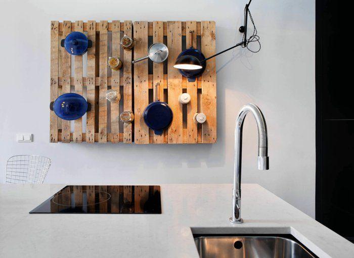 Küchenregale Ideen ~ Holzpaletten möbel diy europaletten ideen wandregal küchenregale