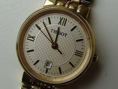 Tissot Damenuhr vergoldet mit Datum, Stahl/gold Armband Top-Zustand - Swiss Made go at Ebay Store Shop edeluhren4you