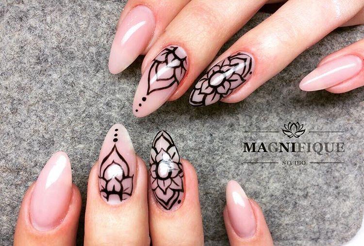 Easy Shape Light Rose #nails #nail #natural #gelnails #gel #indigo ...