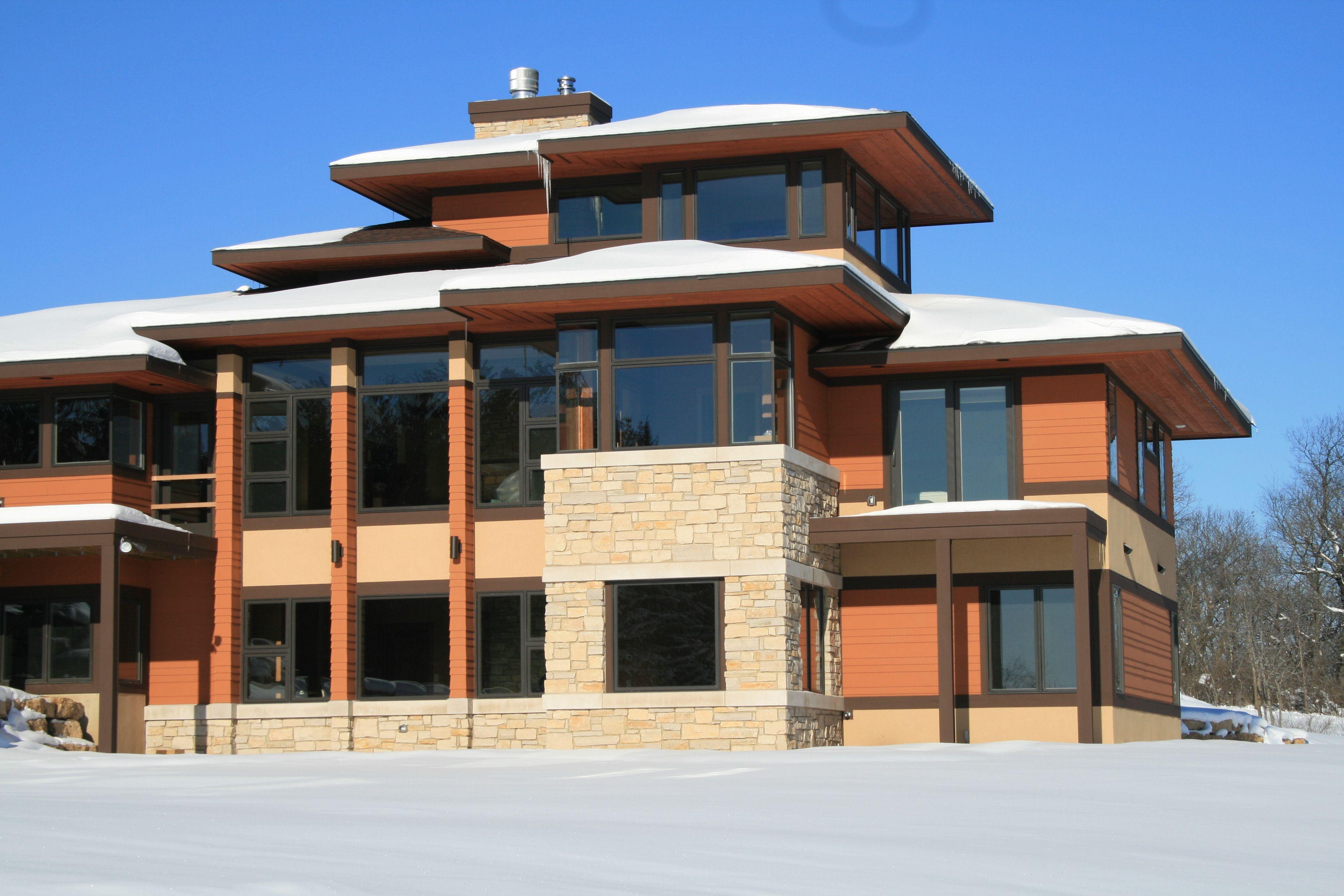 Modern Prairie Style Home Madison Residential Designer