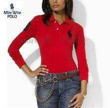 Polo Shirts Directory Of Tops Tees Women S Clothing Accessories And More On Aliexpress Com Moda Para Mujer Ralph Lauren Moda