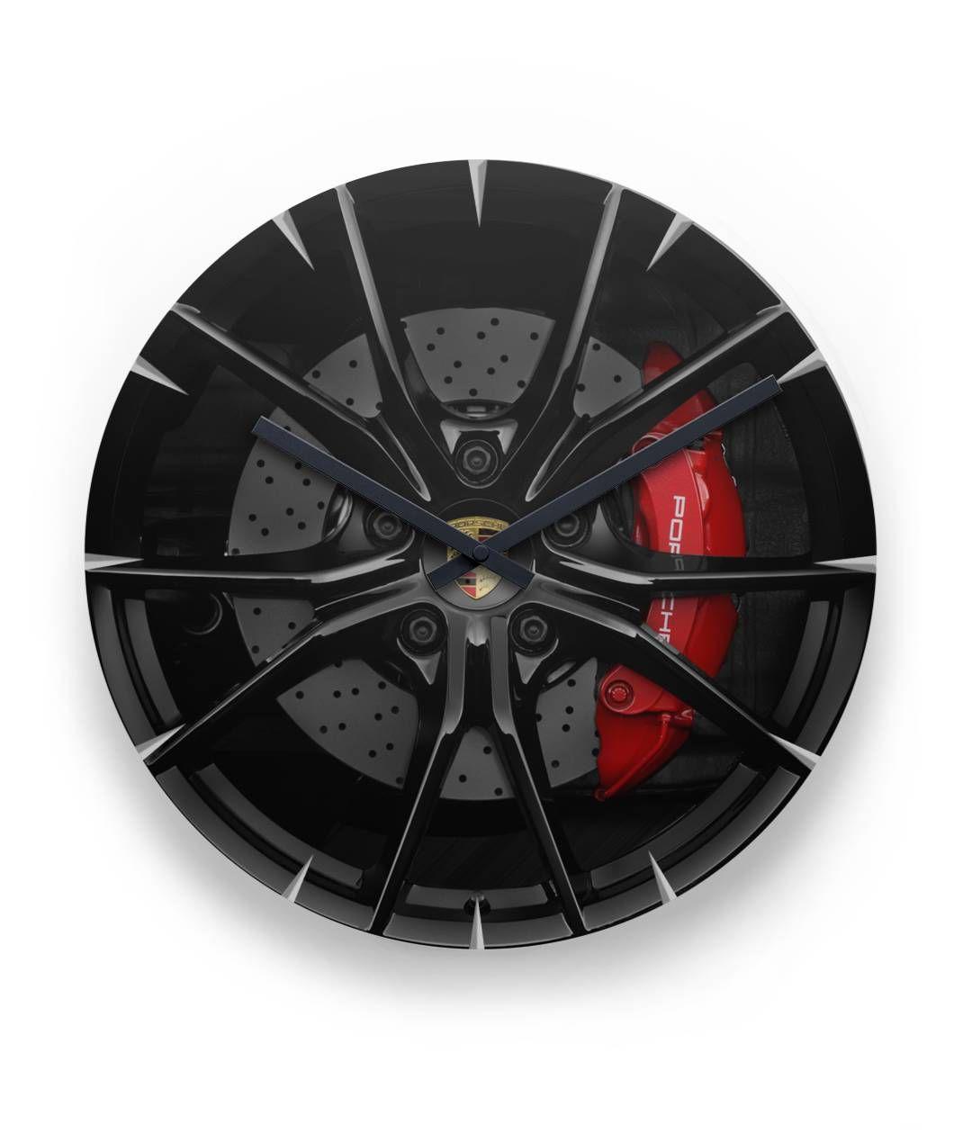 Porsche Wall Clock Porsche Lovers Gift Gift Ideas For Porsche Owners Selbermachen