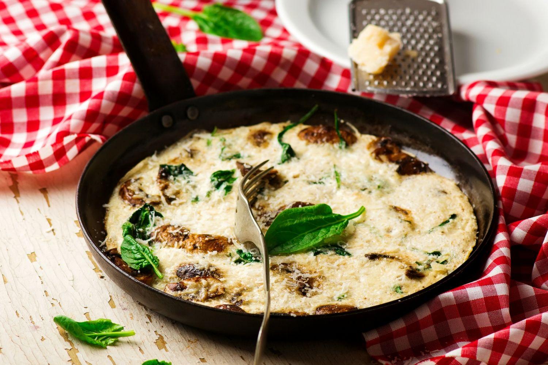 Egg White Mushroom Omelet Egg White Mushroom Omelet