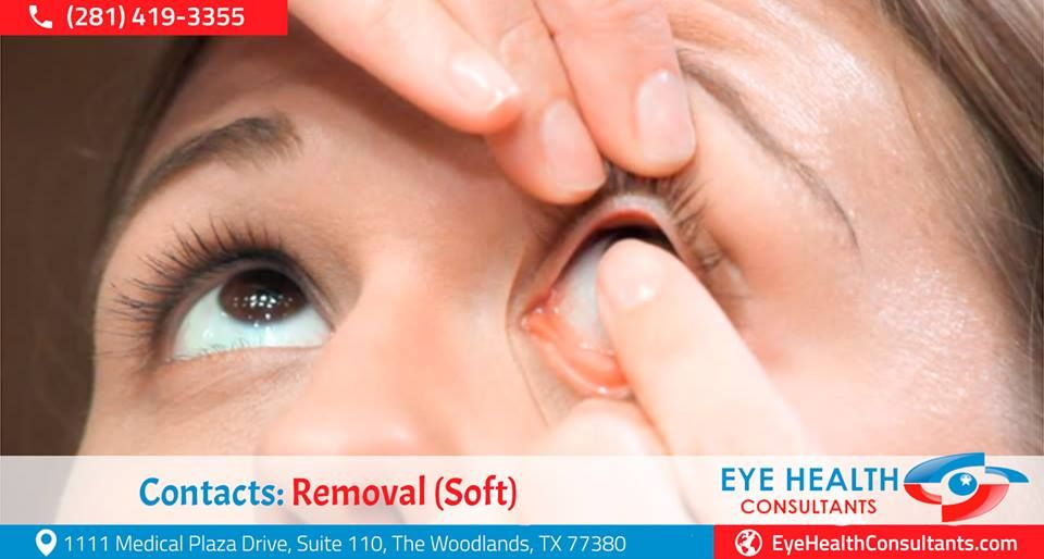 When removing your contact lenses, develop a habit of