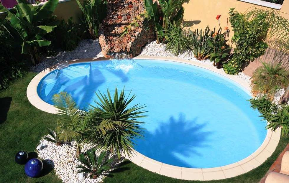 Moderne Pool Designs Fur Kleine Hofe Pool Swimming