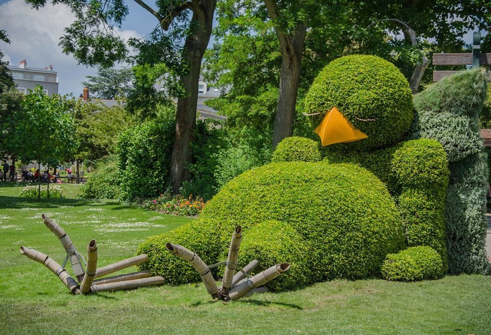 Expo Ponti au jardin des Plantes de Nantes | Wow | Garden, Topiary ...