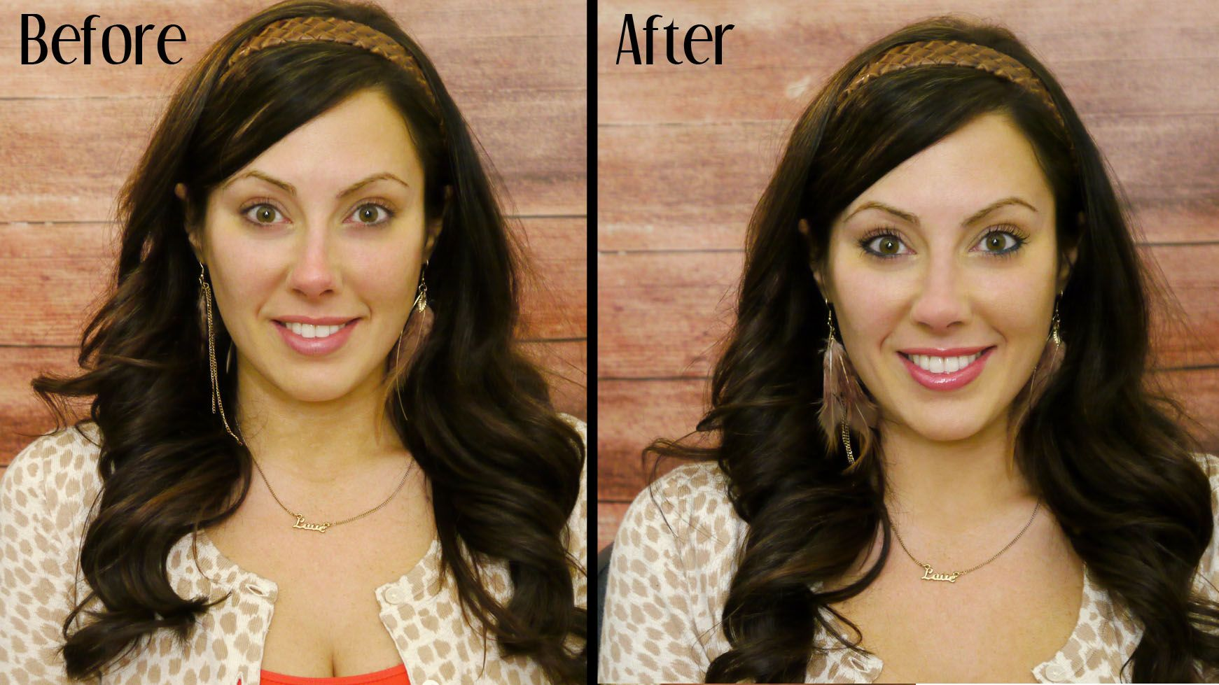 But I am pretty realistic and realize I will be a new mom soon too.  2 MINUTE MAKEUP video...must have :)