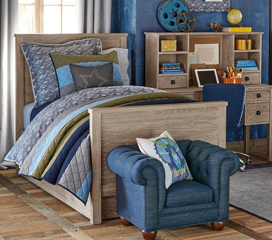 Charlie Bed | Pottery Barn Kids | Zachary Big Boy Room | Pinterest