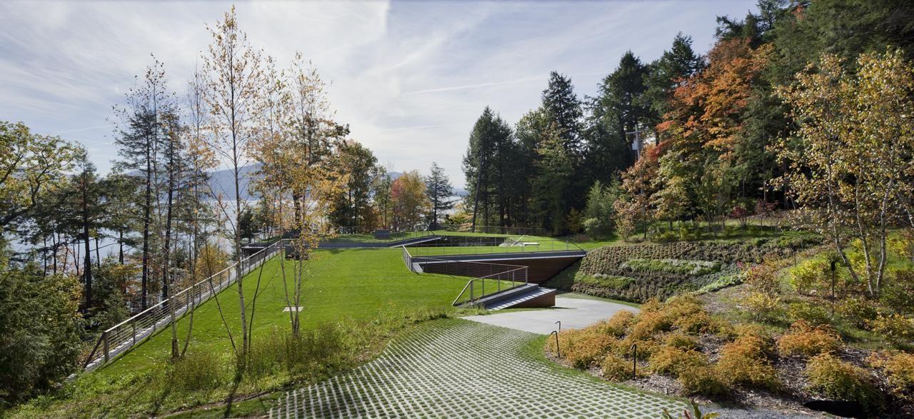 Lakeside Retreat Gluck Rooftop Garden Lake House