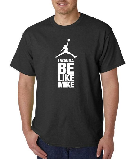 4f51df9cad1a I Wanna be Like Mike tshirt from old Gatorade by TeesToAll