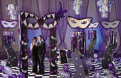 MASQUERADE Prom Themes List Of 2012 Theme Ideas And Decorations