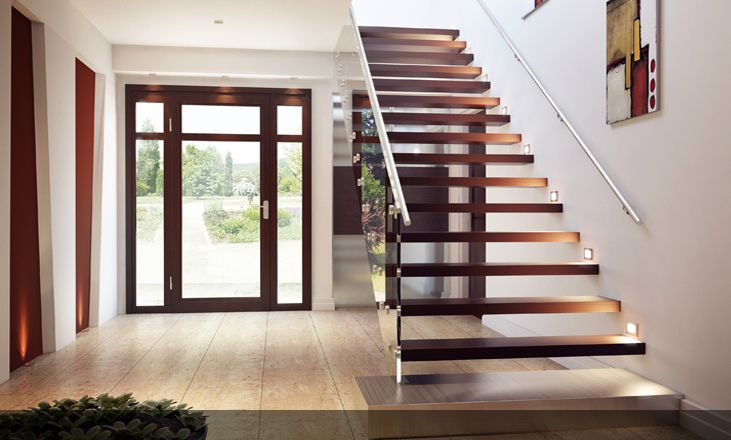 Charming Rize Stairs  Modern Stair Designs
