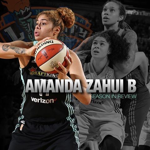 @amandazahuib impressed in her first season as a member of the @nyliberty Head over to nyliberty.com to review her impact on andnoff the court in NYC.