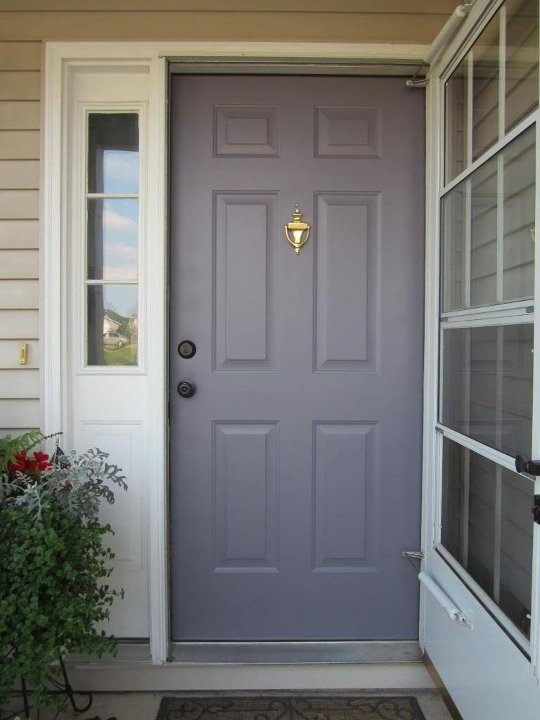 Paint your front door to boost curb appeal - How to paint a steel exterior door ...