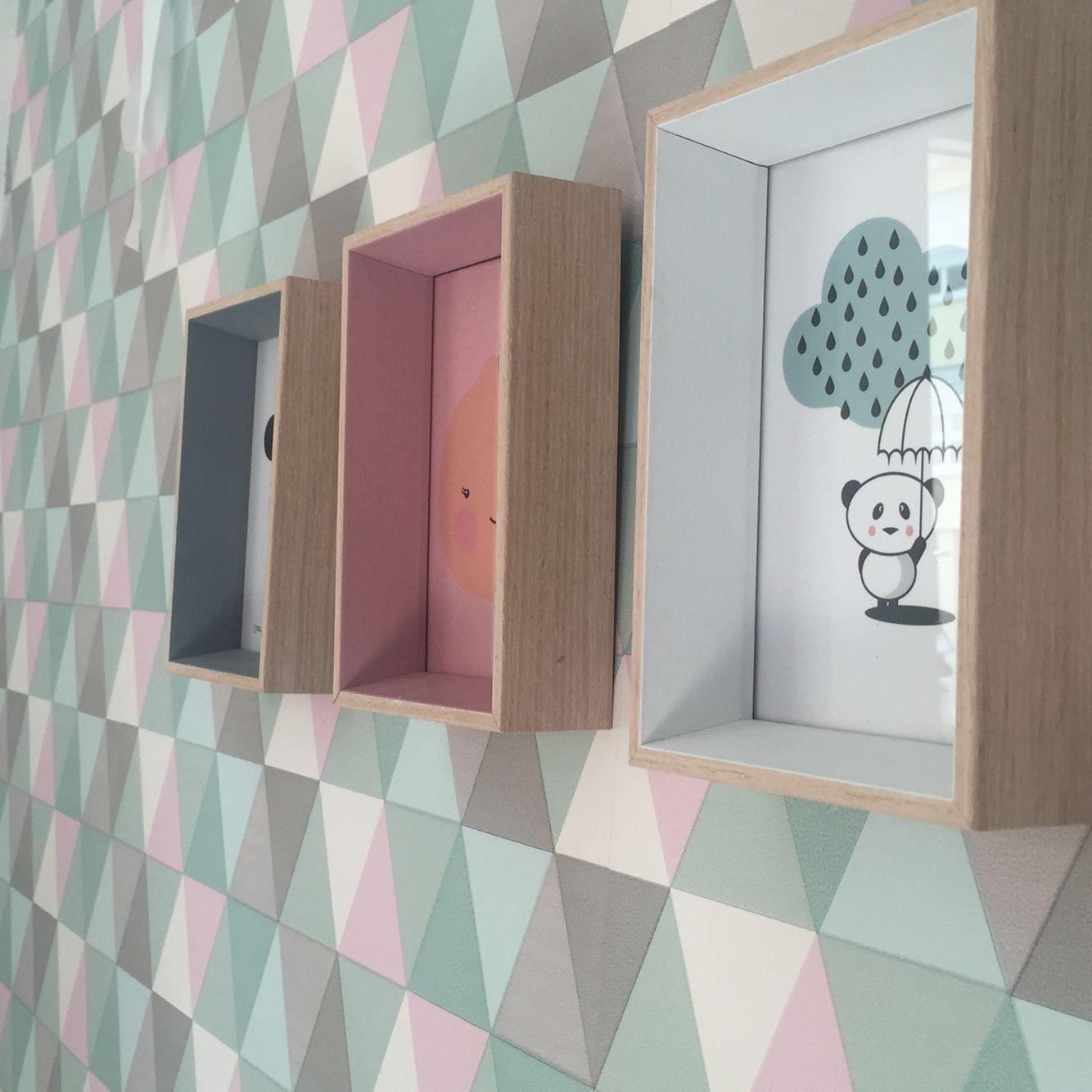 Gift Company Bilderrahmen Holz In Drei Farben Klein