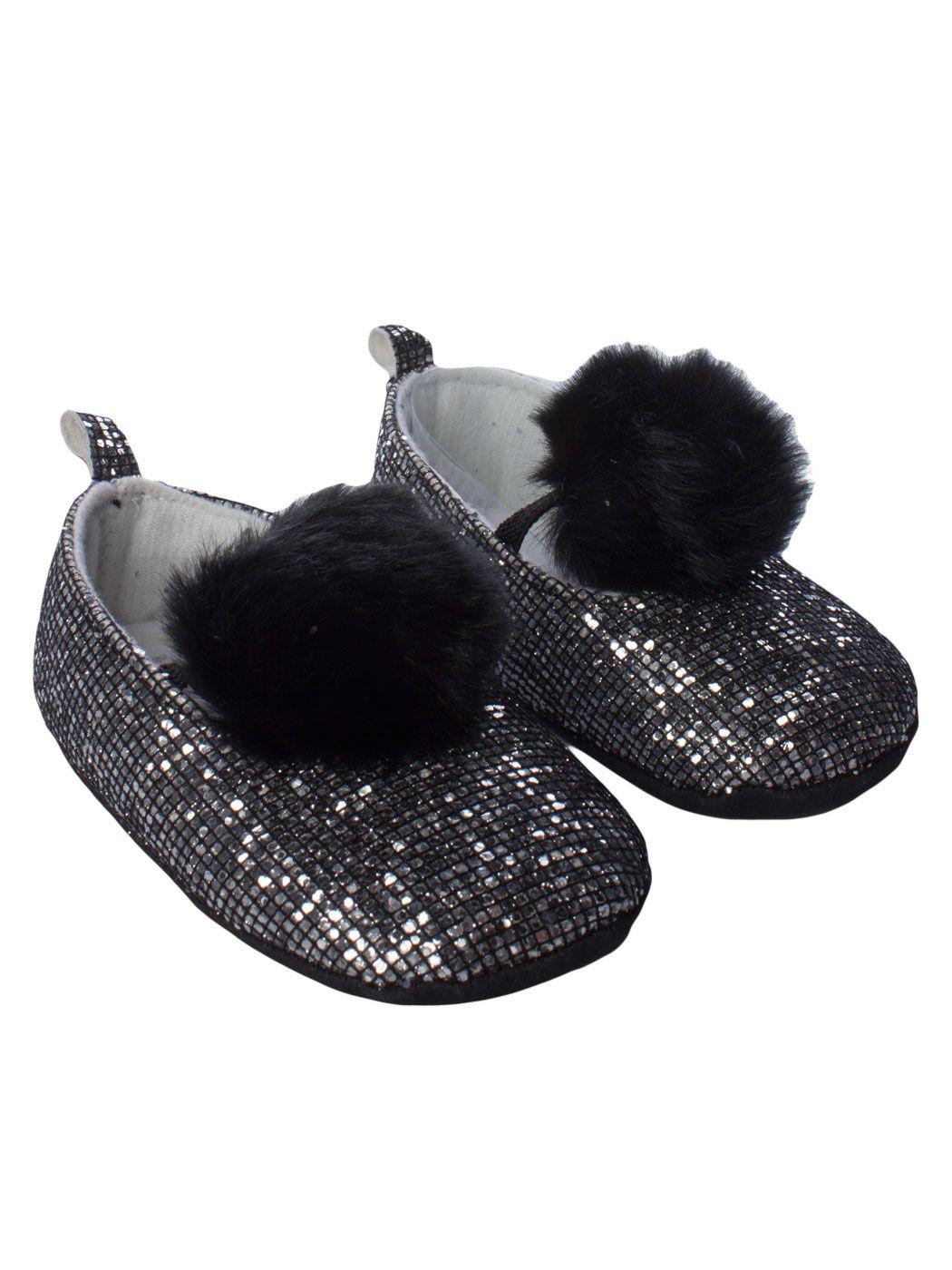 Zapatos negros con cordones infantiles aUd94