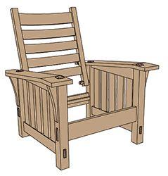 Stickley No 369 Slant Arm Morris Chair Plansreadwatchdo Com