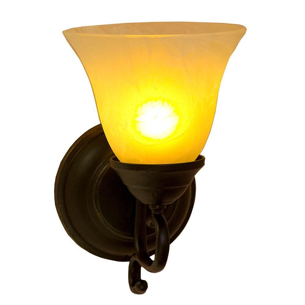 It\'s Exciting Lighting Oil-Rubbed Bronze Indoor/Outdoor LED ...