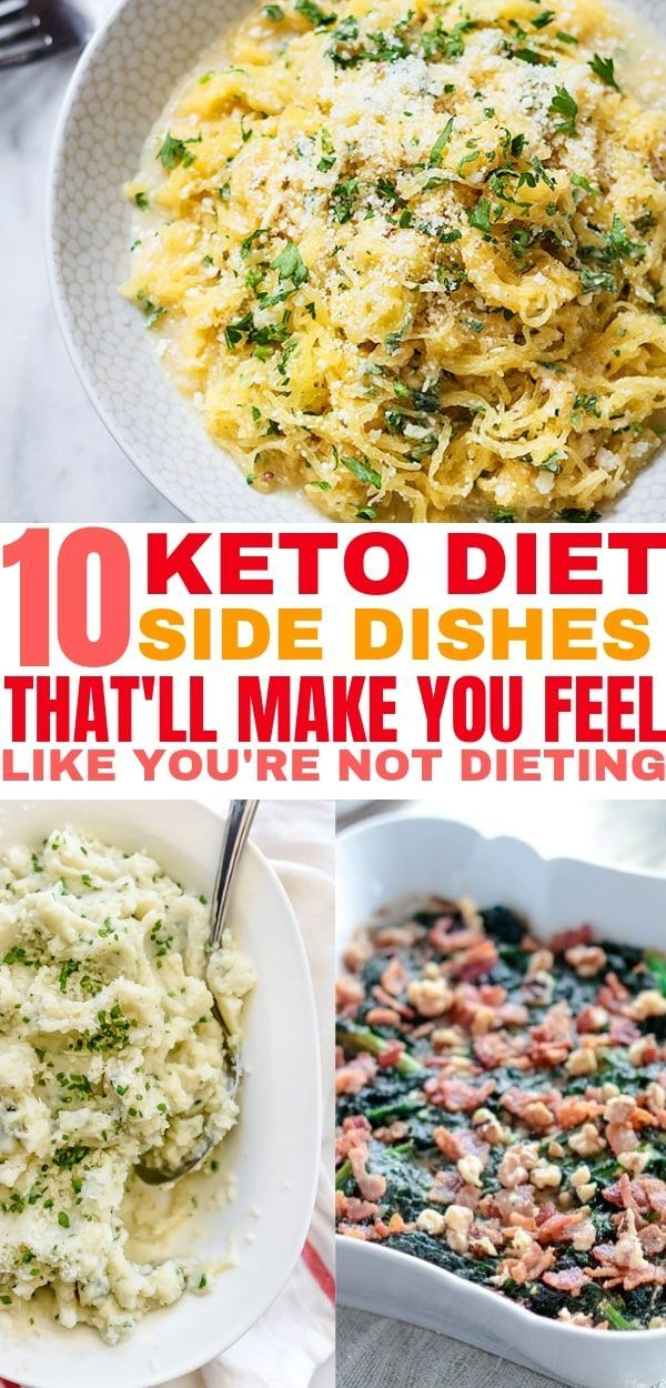 10 Delicious Keto Side Dishes that Anyone Can Make images