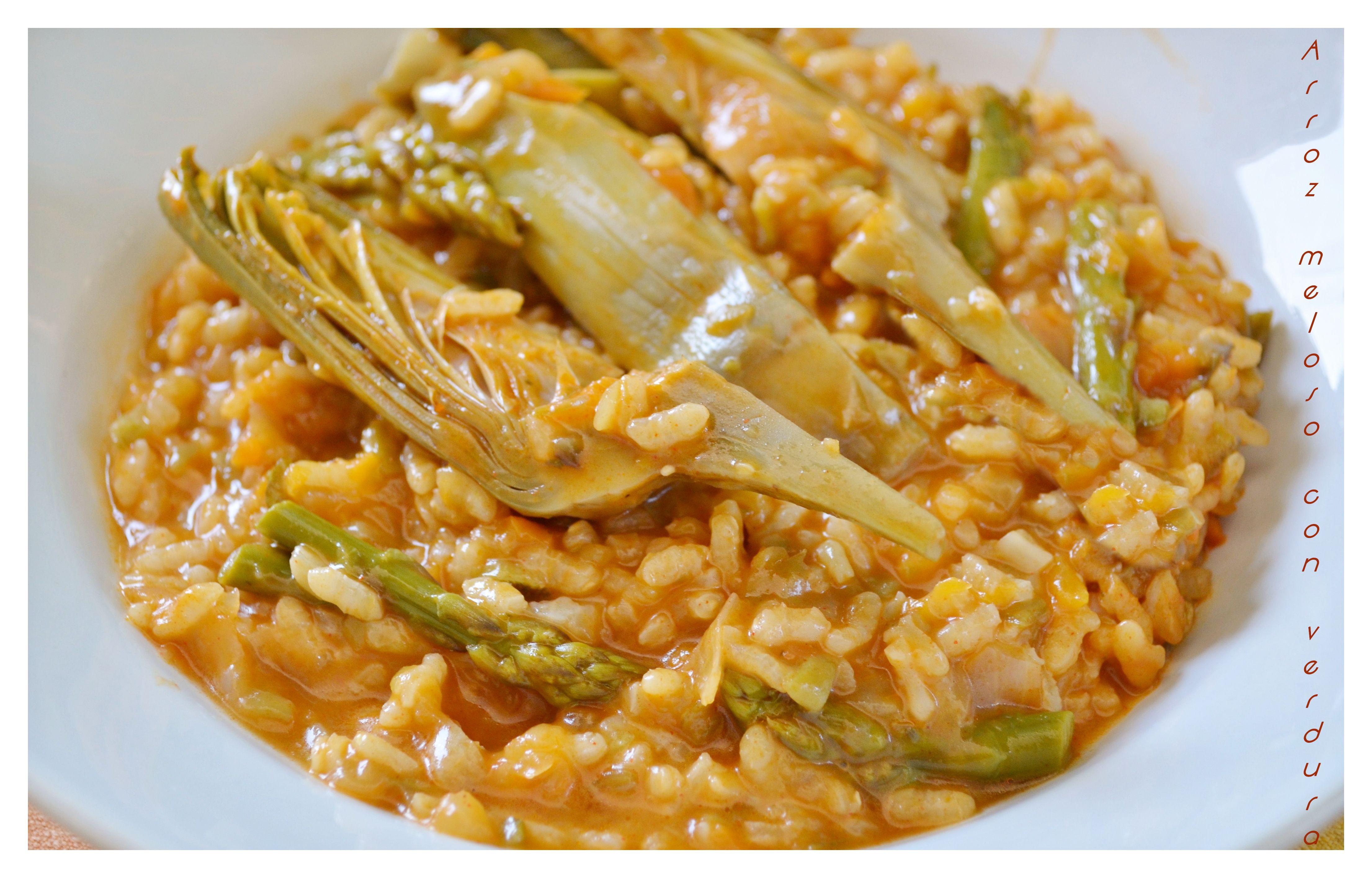 Arroz meloso con verduras  Recetas Vegetarianas  Recetas
