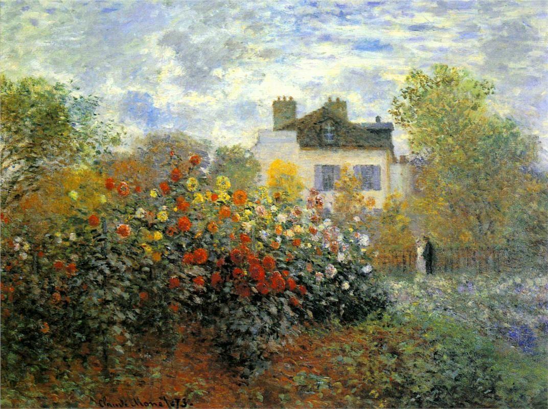 8895c35336d The Garden of Monet at Argenteuil