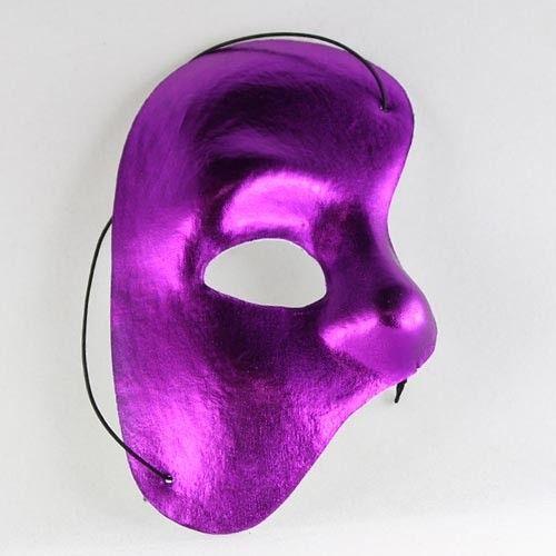 purple phantom mask | Purple Half Mask