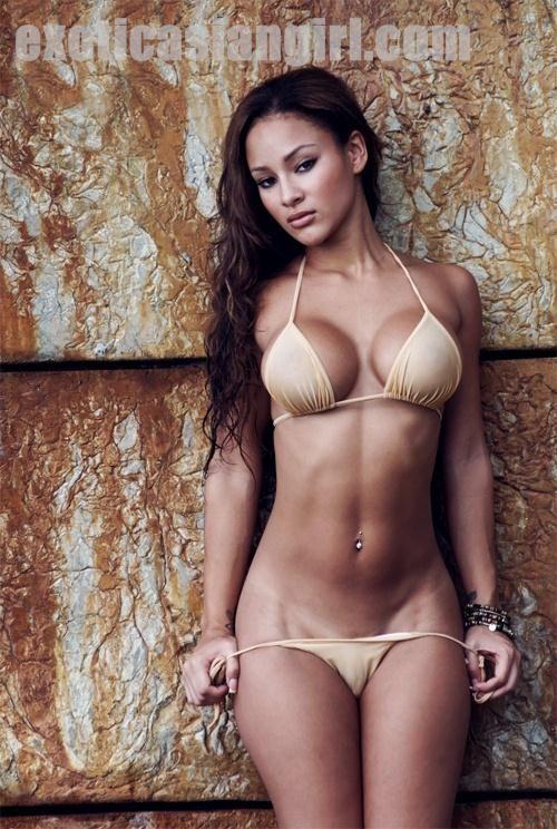 Asian exotic bikinis