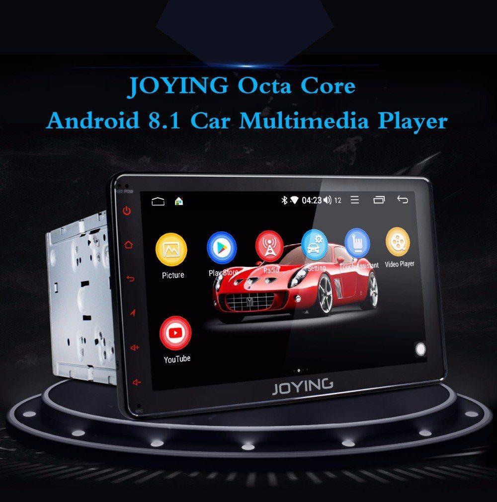 JOYING 2 Din 8 Core 4GB 8 inch Android 8 1 GPS player radio