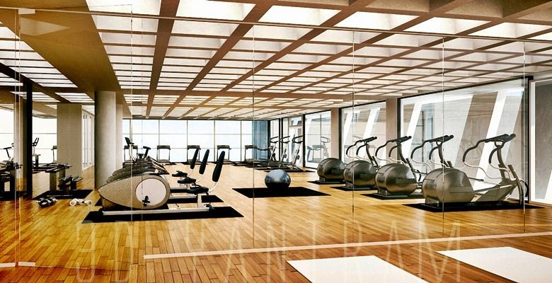 3d interior design gym interior interior rendering gym center gym