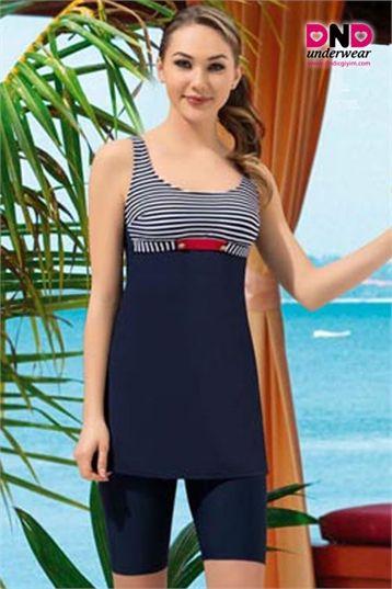 Nbb 50167 Bayan Taytla Elbise Mayo Mayolar Bikini Modelleri Elbise