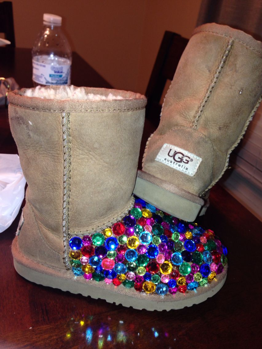 bedazzled uggs