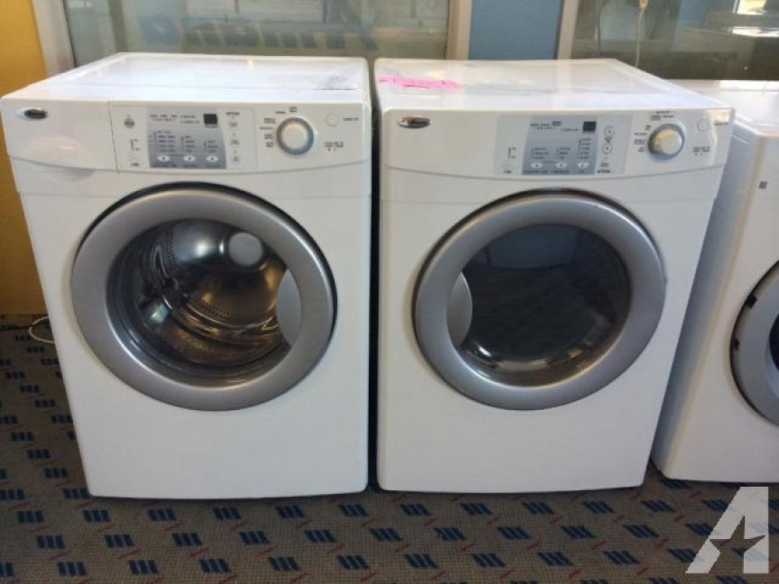 Amana Front Load Washer Dryer Set Pair USED for Sale in Tacoma