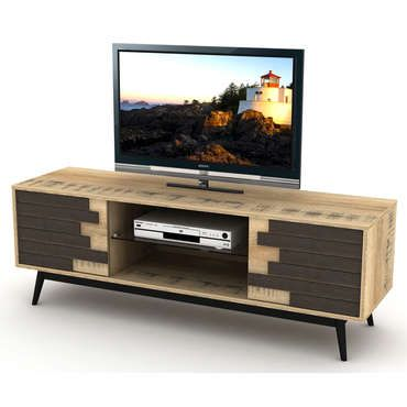 Meuble TV 140 cm Room decor, Living rooms and Room