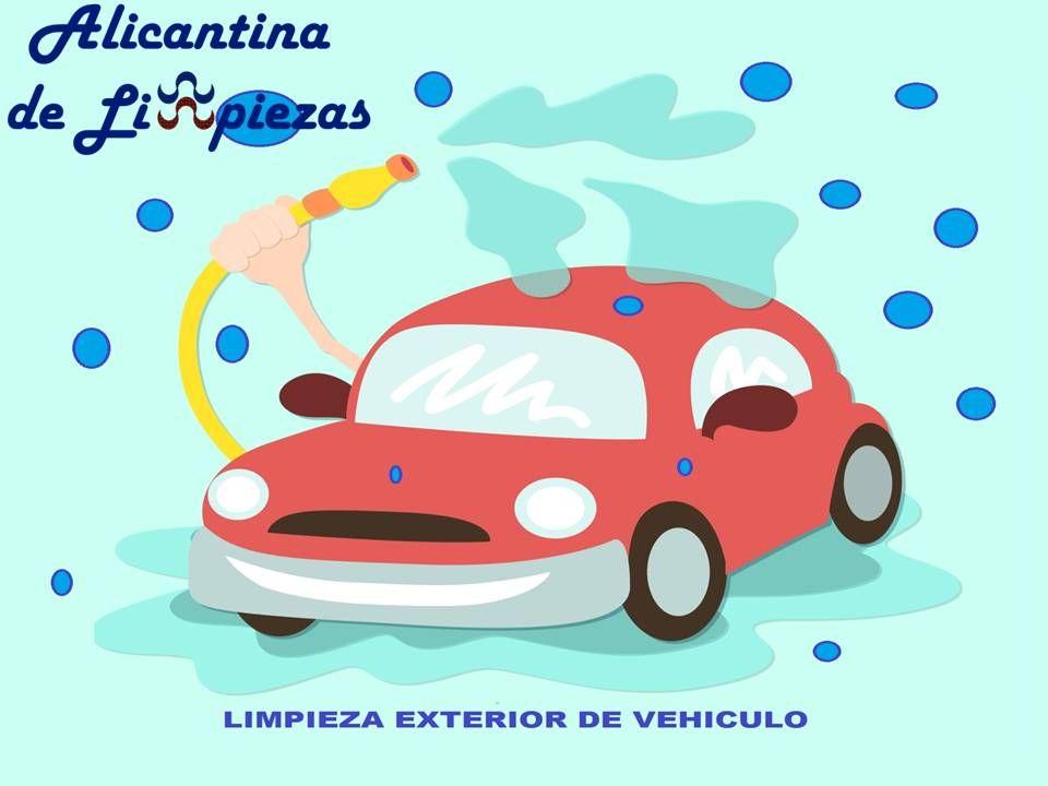 Limpieza Exterior De Tu Vehiculo Lavar Carro Carro Dibujo Y