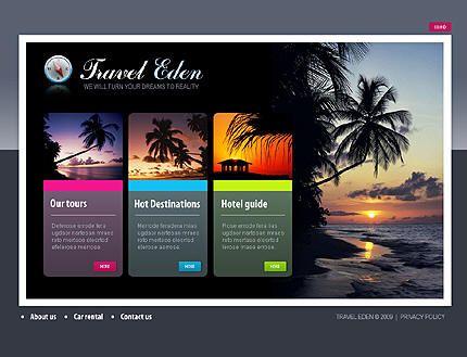diseño de paginas web para agencias de viajes 2.0 | web creativas