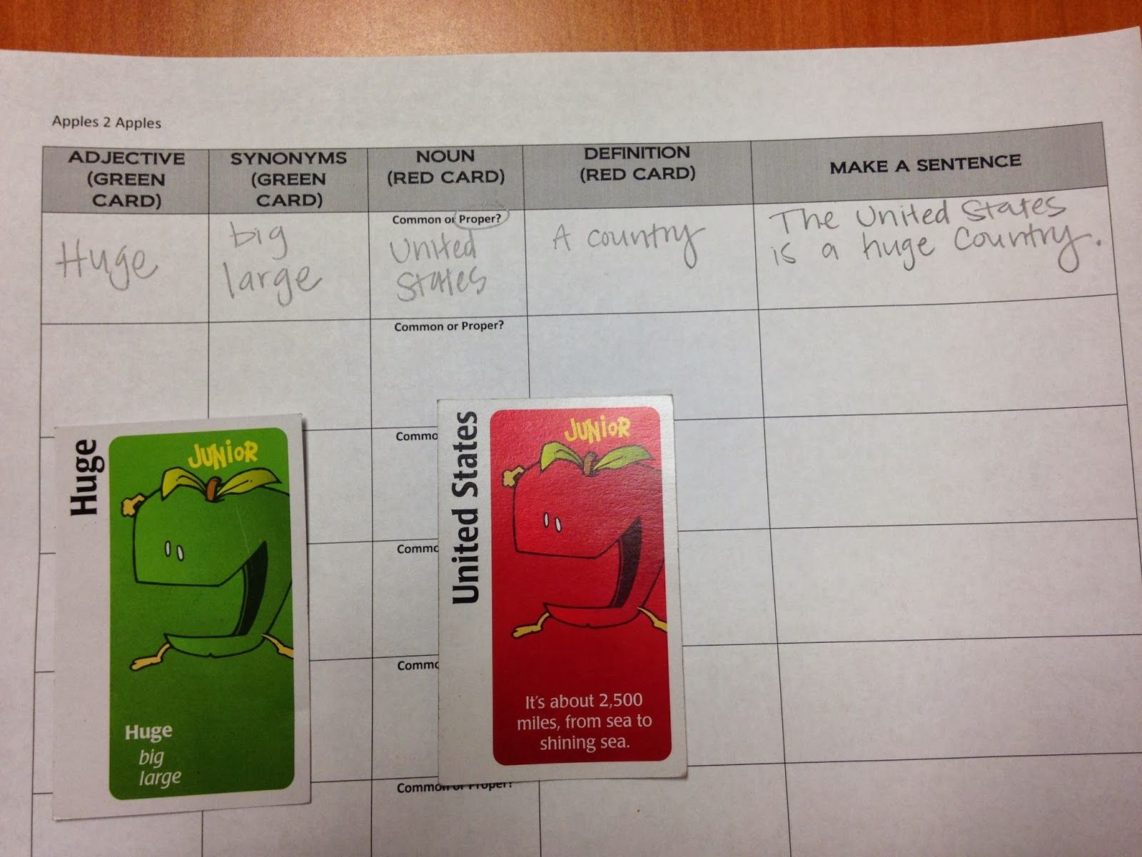 Millions Of Fingerprints Today In Speech Therapy We Played Apples To Apples Me