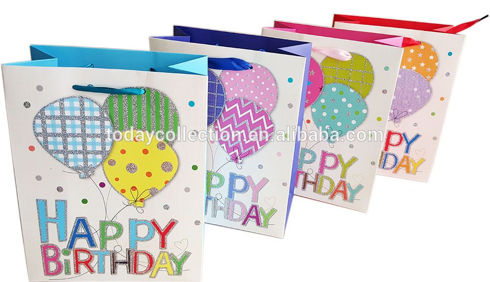 Happy Birthday Gift Bags Wholesale
