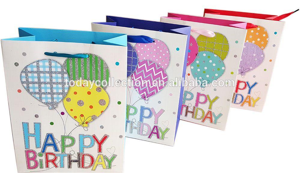 Happy Birthday Gift Bags Wholesale