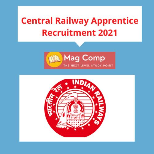Central Railway Apprentice Recruitment 2021 Apply 2532 Post In 2021 Apprentice Recruitment How To Apply