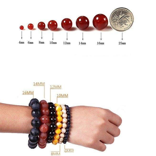 New Diy 4//6//8//10//12 mm Natural Stone Morgan Agate Round Beads fit Yoga bracelet