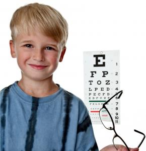 Revisa la vista de tus hijos