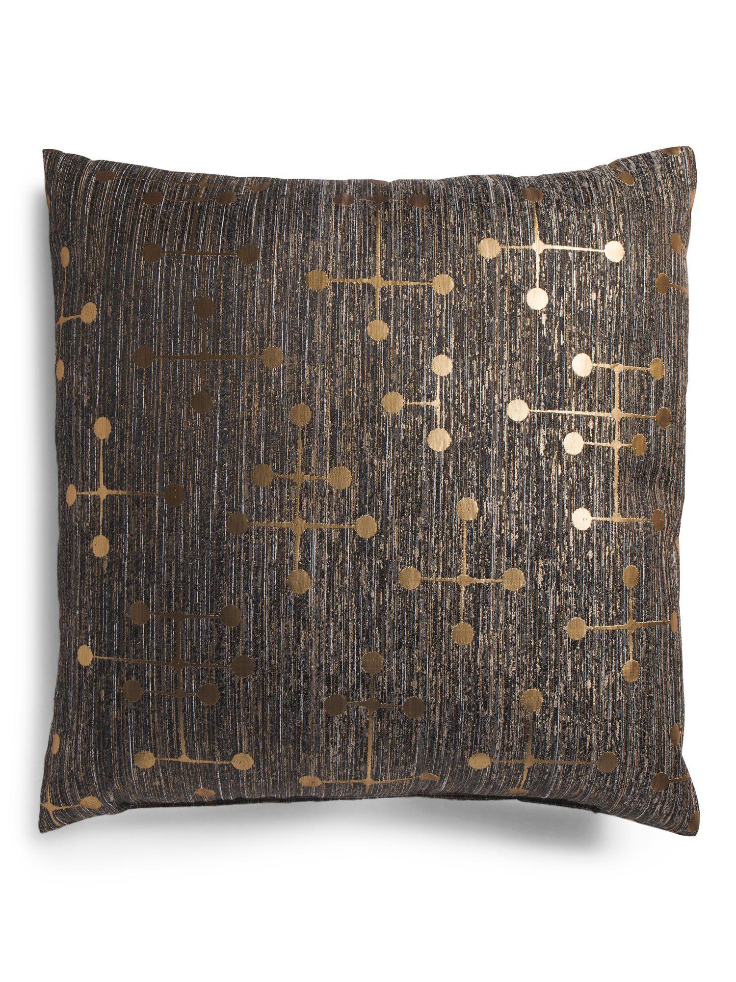 Made In Usa 20x20 Barnstable Pillow Throw Pillows Beige Throw Pillows Pillows