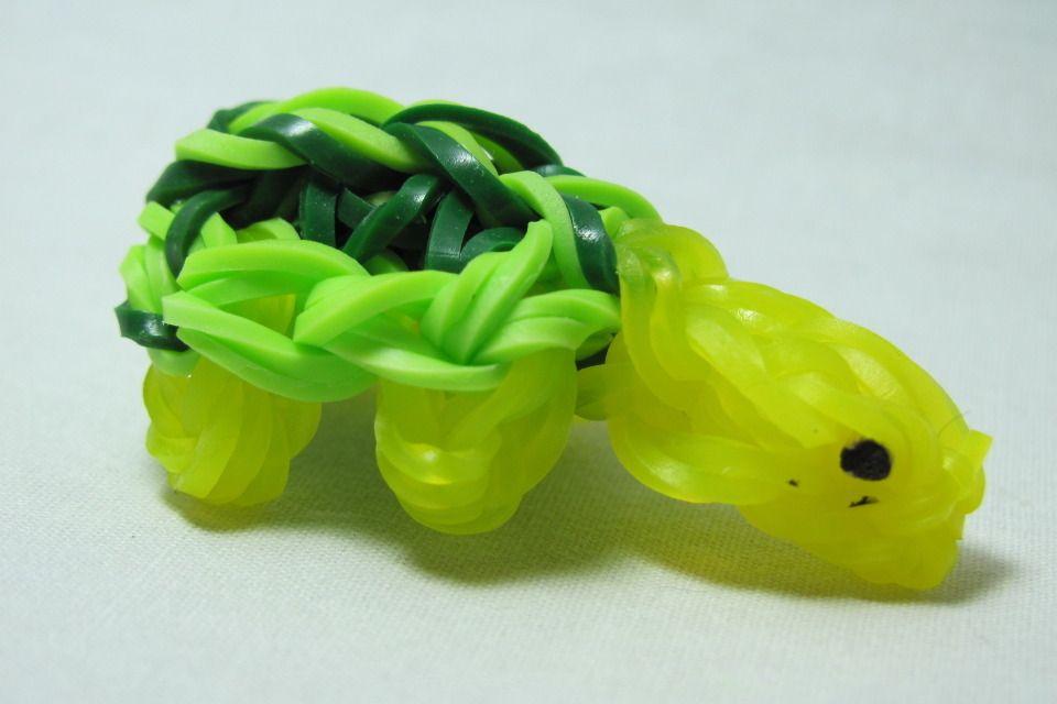 Rainbow Loom Turtle - DIY