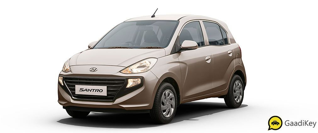 2019 Hyundai Santro Colors White Beige Red Silver Blue Green