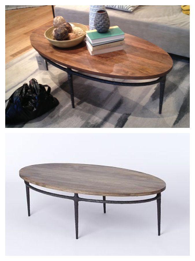 West Elm: Cast Base Coffee Table $399 Den?