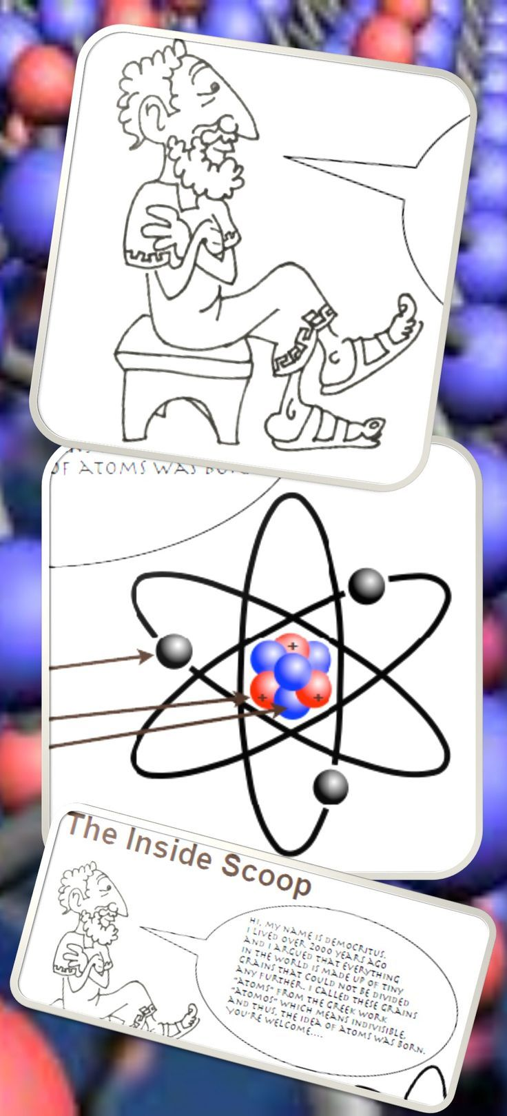 Fun and engaging worksheet for atomic structure. Covers